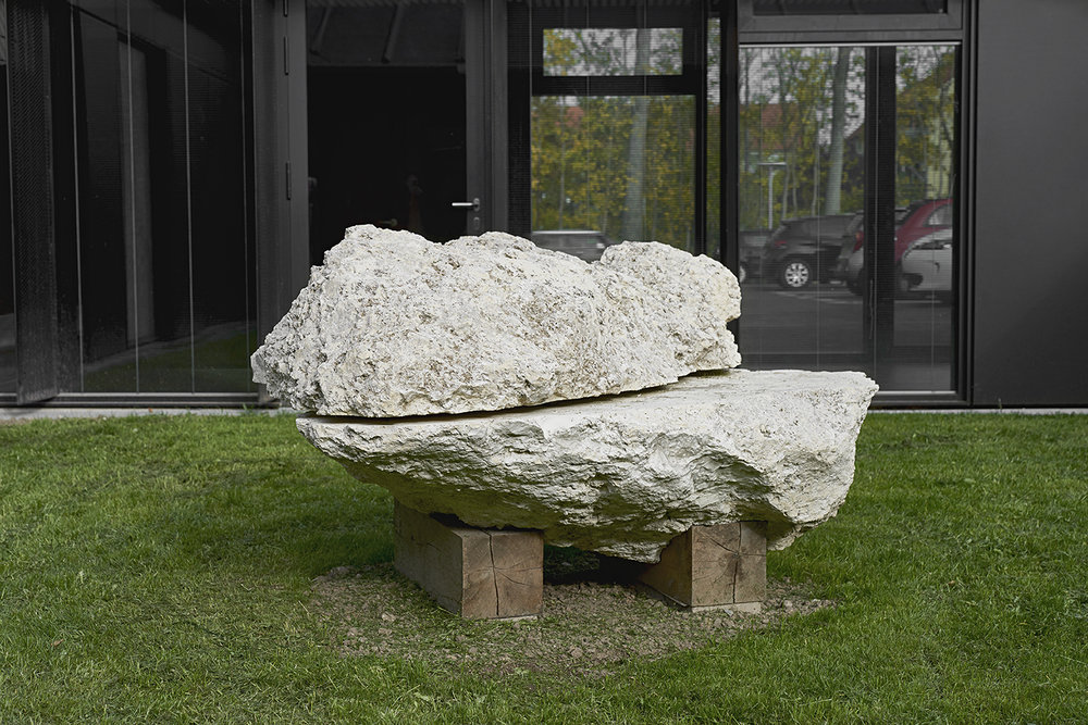 Psykiatrisk Center Ballerup, Gårdrum 2. Foto: Lea Jessen.