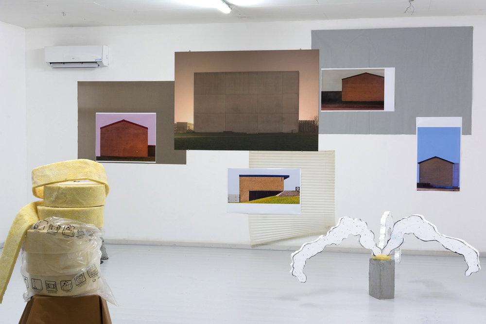 """Jesper Olsen """"#FOMO"""" (installation view). Foto: Jesper Olsen."""