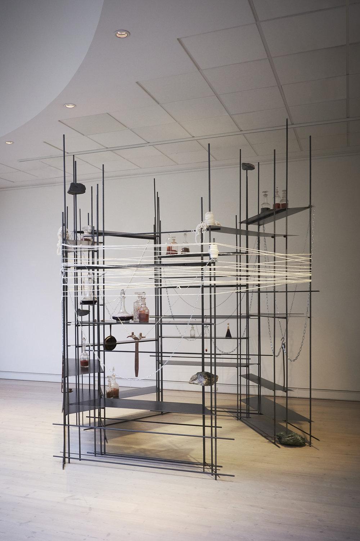 Mille Kalsmose, Conscious Matter, 2018. Horsens Kunstmuseum. Foto: Jacob Steentoft.