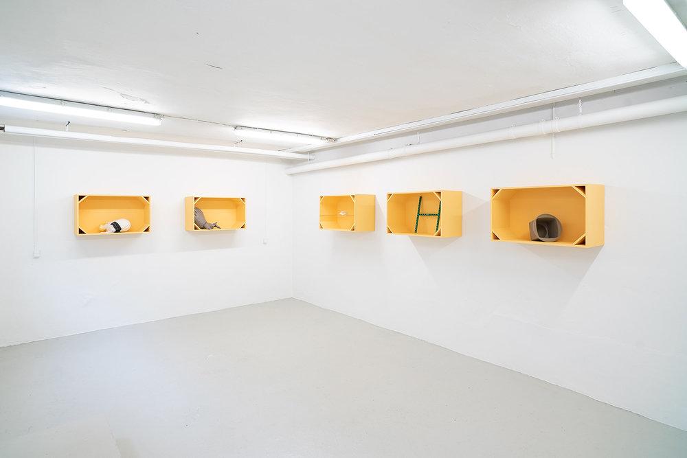 """Anne Mette Schultz """"Herkomst"""" (installation view)."""
