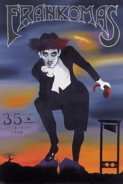 "Justine Frank ""Frankomas,� 1930. © Roee Rosen & Rosenfeld Gallery, Tel Aviv."