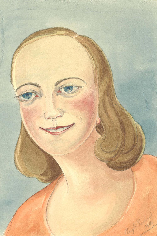 "Ingeborg Prehn ""Titel ukendt,� 1946. © Museum Ovartaci."