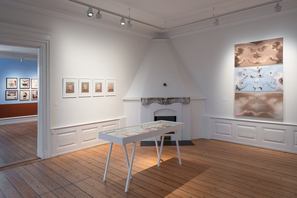 "Ingeborg Prehn, Julie Nord & Roee Rosen ""Fantasmer."" Foto: David Stjernholm."