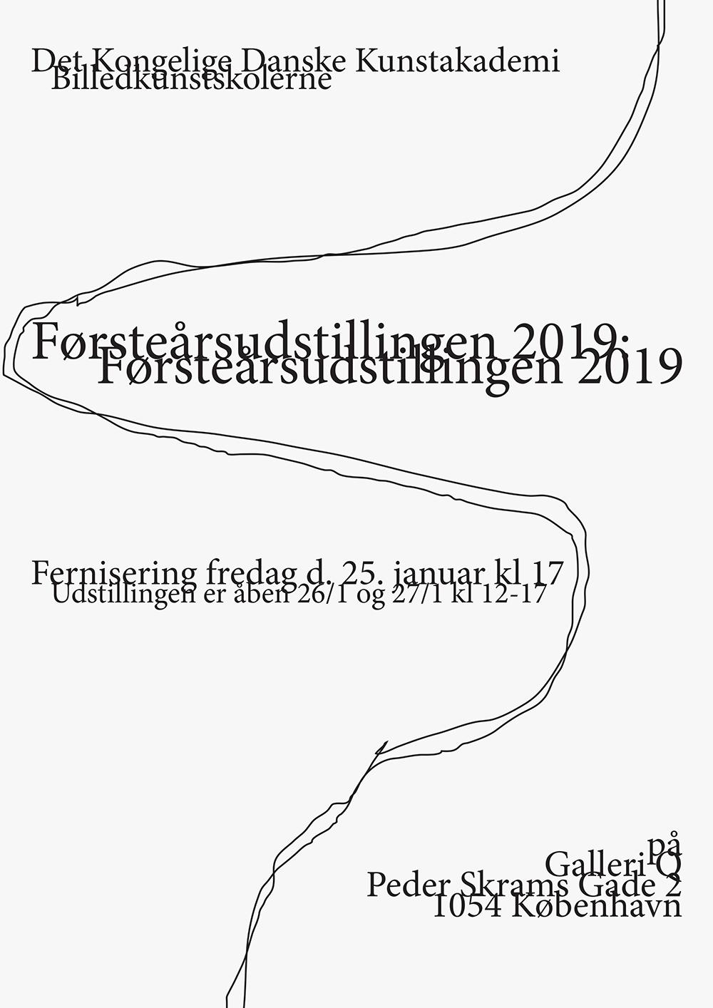 Førsteårsudstillingen 2019