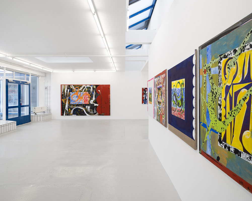 """Alfred Boman """"Man Gave Names to All the Animals� (installation view). Foto: David Stjernholm."""