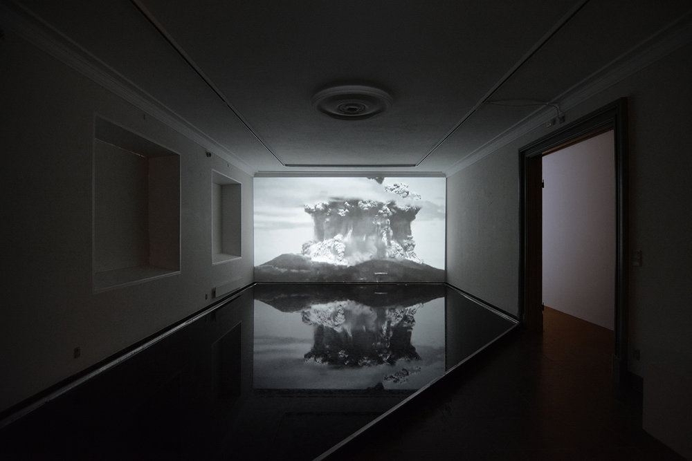 "Michael Würtz Overbeck ""Black Mirror (detail),� 2019. Foto: Michael Würtz Overbeck."