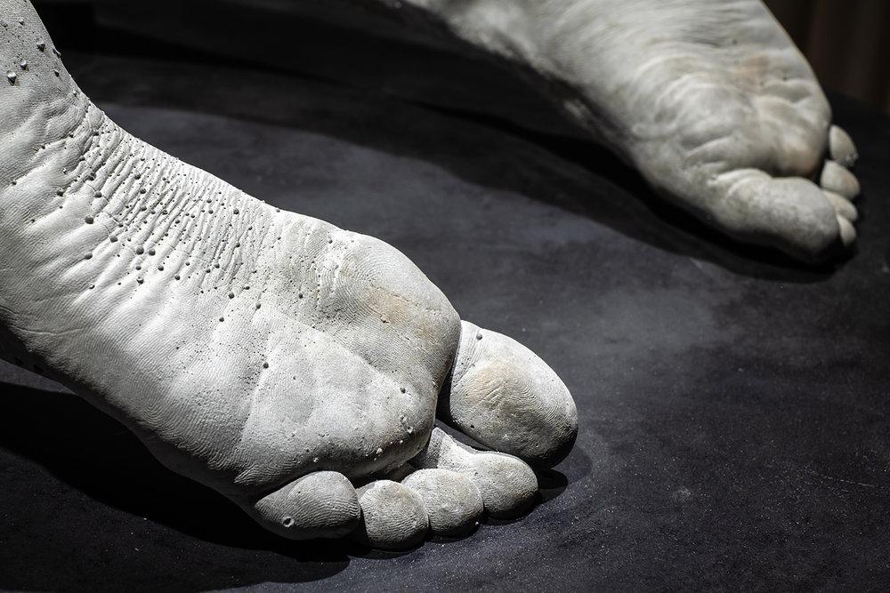 "Michael Würtz Overbeck ""Artefact� (detail), 2019.  Foto: Michael Würtz Overbeck."