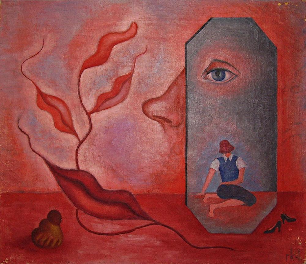 "Rita Kernn-Larsen ""KnowThyself,"" 1937. © Guggenheim Foundation, Venedig."