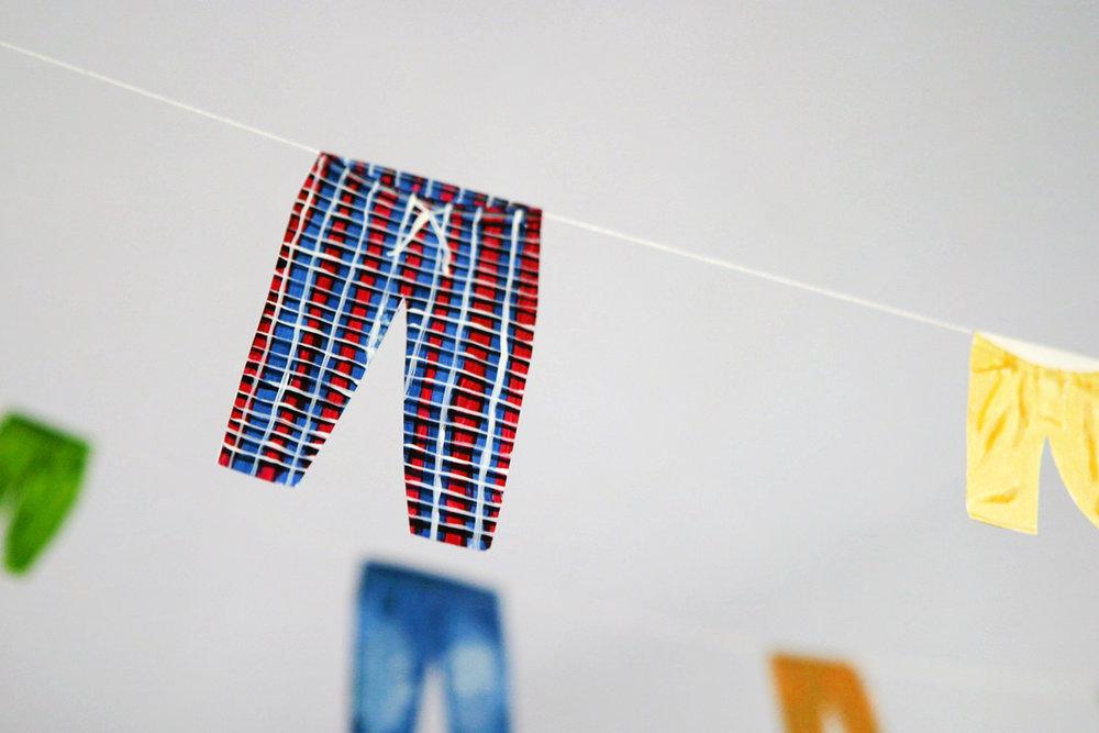 Paula Kaniewska, Who washes the pants? (detail). Photo: Scott William Raby & Rikke Ehlers Nilsson.