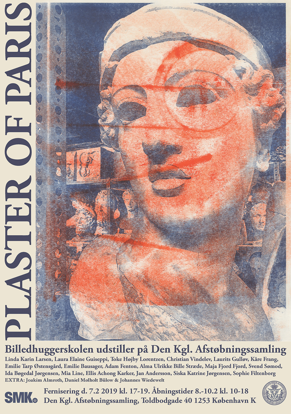 Streamer plaster of paris