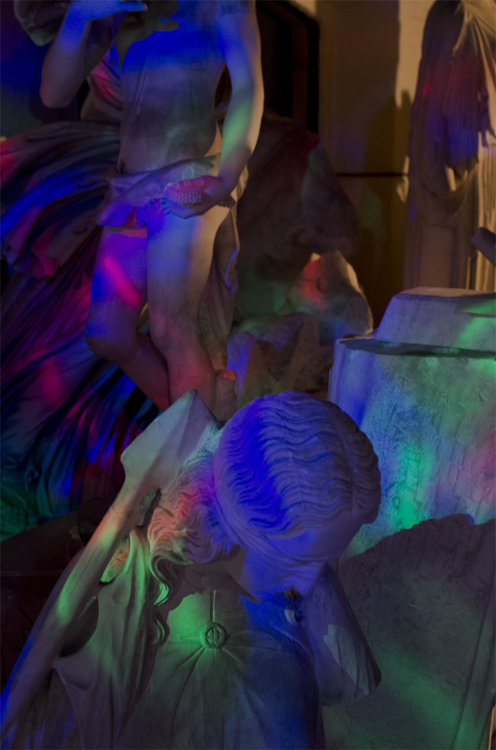 Adam Fenton, Sketch For The Ultimate New Aestetic Dancefloor Of The Future 2.0. Foto: Alma Ulrikke Bille Stræde.