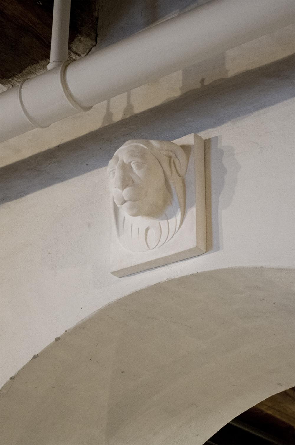 Johannes Wiedewelt, Lionhead 1770. Foto: Alma Ulrikke Bille Stræde.