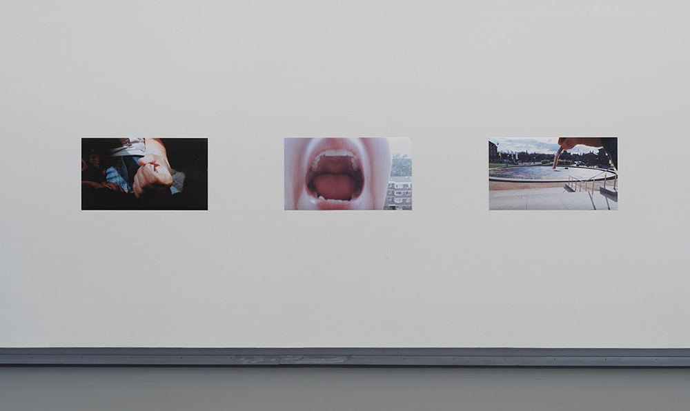 """Sidsel Meineche Hansen """"PRE-ORDER I-III: Enduser, 2018; It's not Mechanical, my Hell Mouth opens but can't close, 2018; An Artist's Guide to Stop being an Artist,� 2019. Photo: Anders Sune Berg. Courtesy the artist and Rodeo London/Piraeus."""