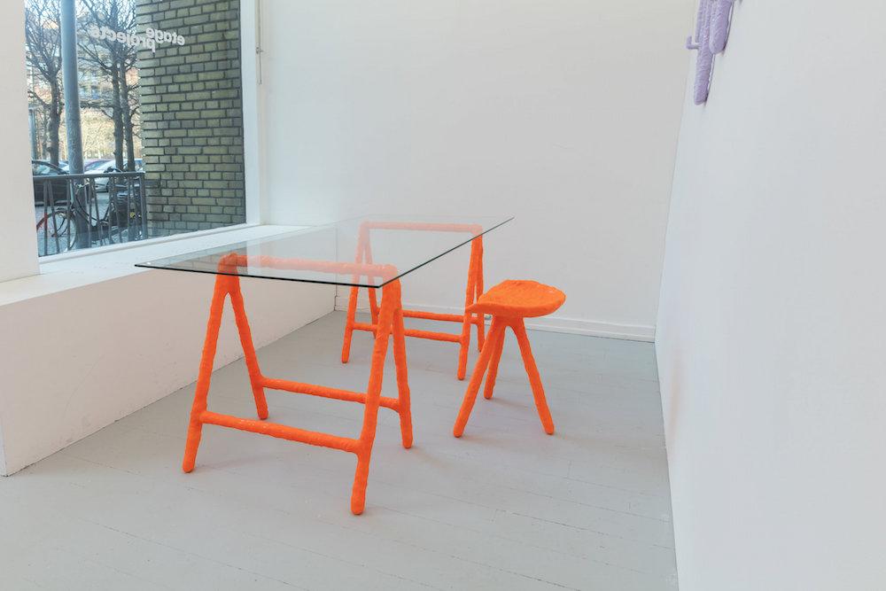 "Jerszy Seymour ""Proto Trestle Table,� 2018."