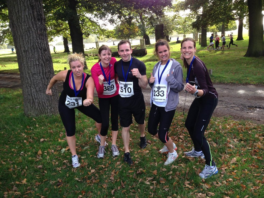 2013's Capital Runner's Richmond Park 10km. Just a bit red in the face then.