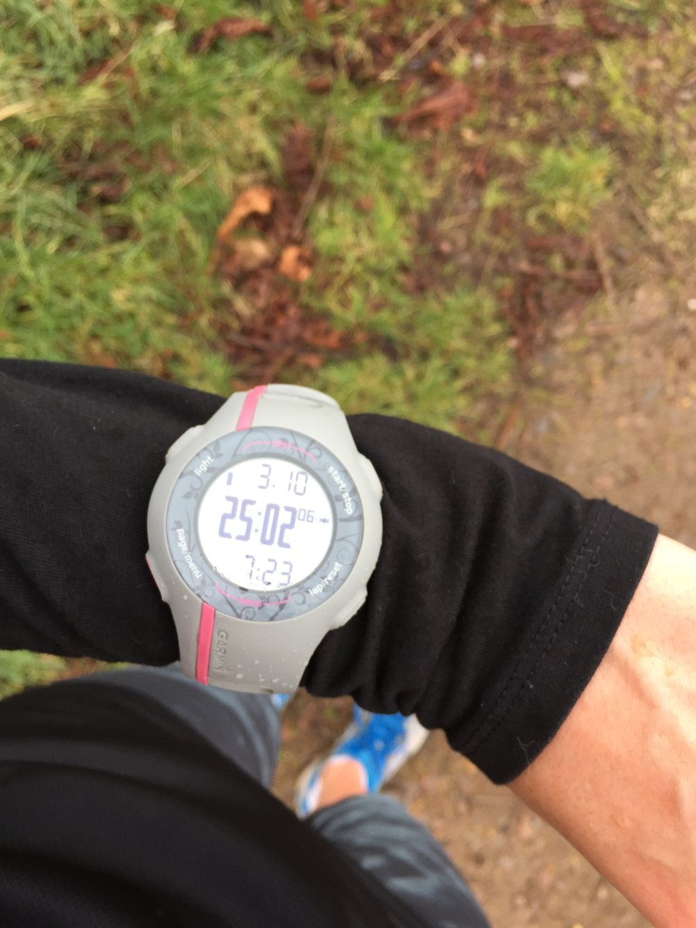 The illustrious sub-25 minute 5km is still out of my reach...