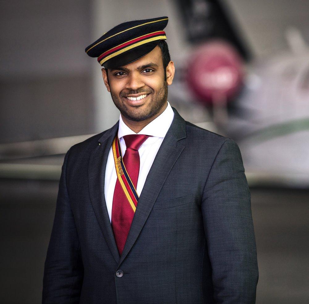 Michael Jayasekara (25), ÖCV Präsident © Eugen Prosquill