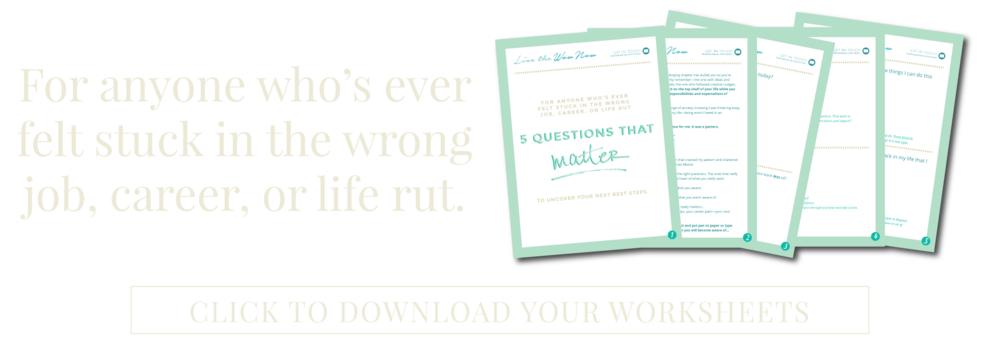 5 Questions that Matter -Live The Wow Now