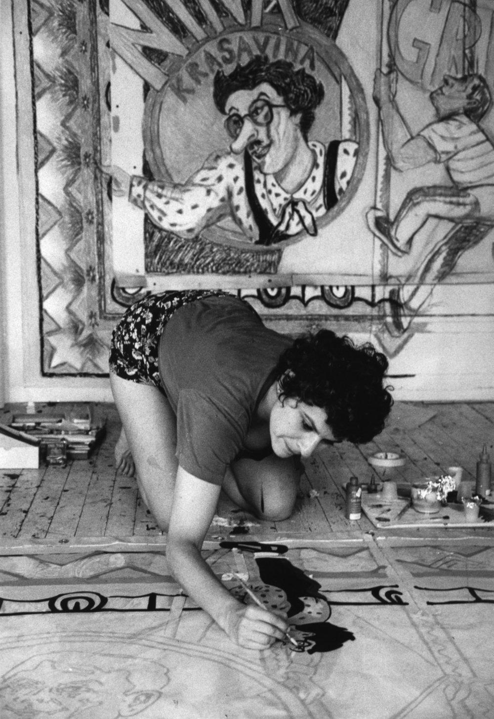 Artist  Mimi Gross