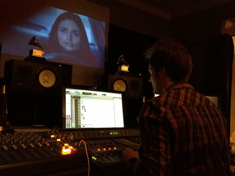 Rob Burrell, audio mixologist