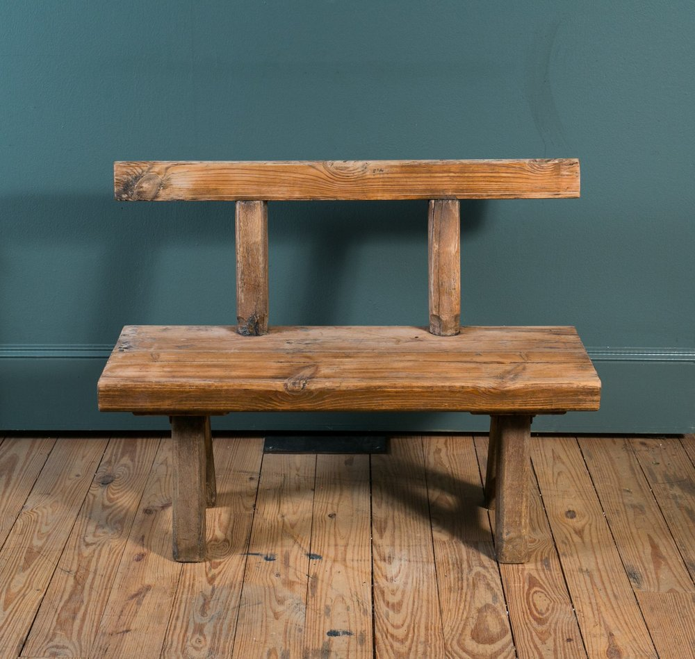 Primitive Antique Rustic Bench