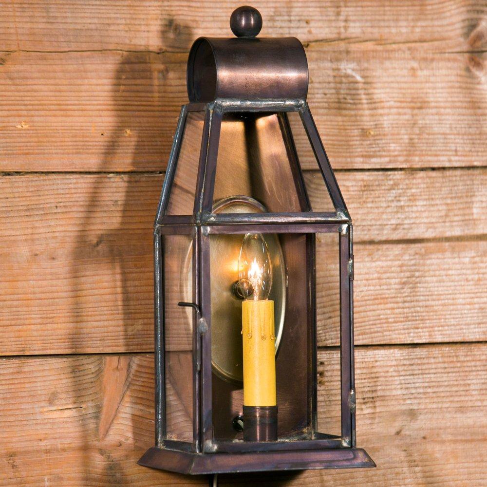 """""""Brazos"""" Small Wall Lantern"""
