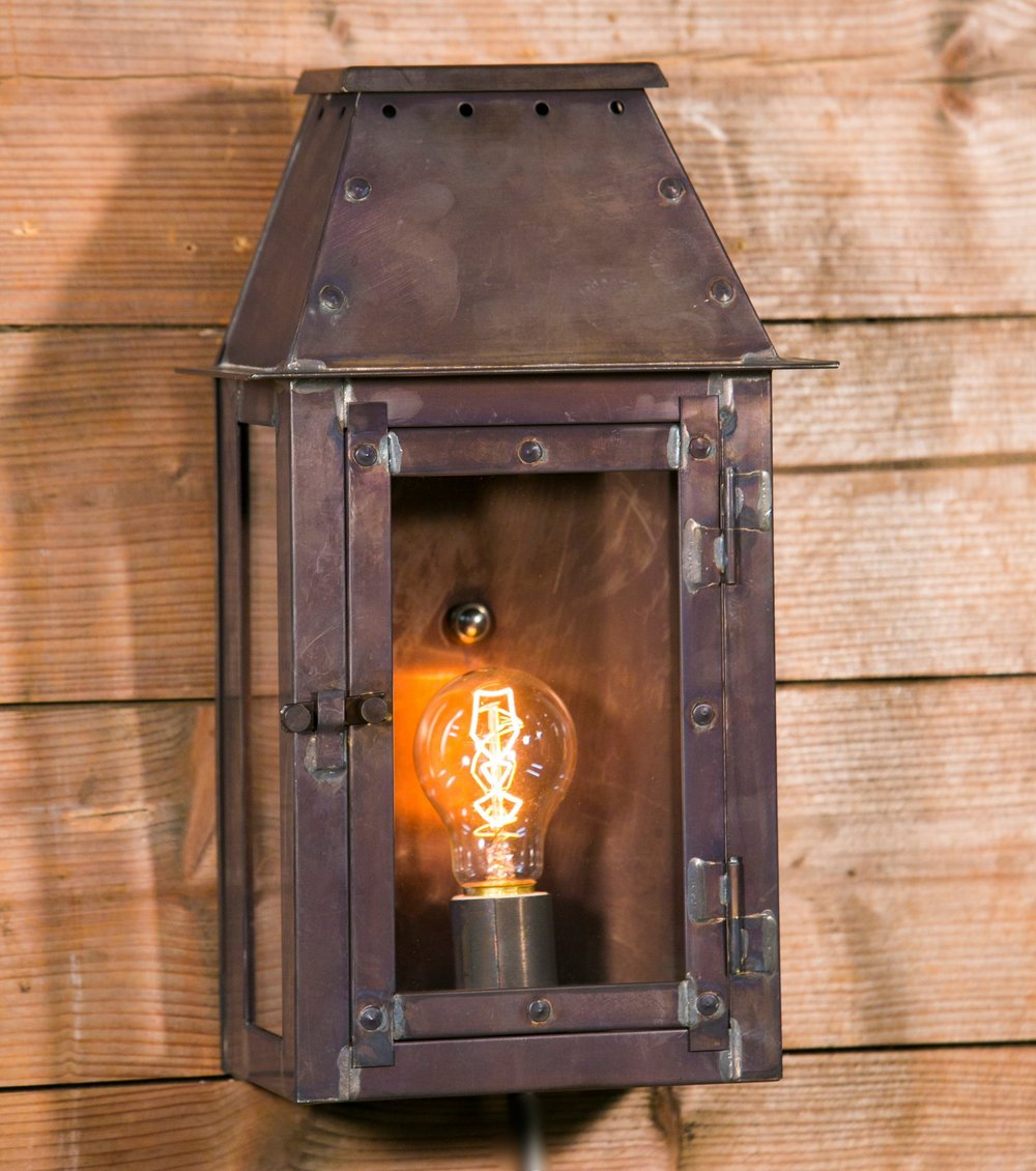"American Made Indoor/Outdoor ""Chambers"" Wall Lantern"