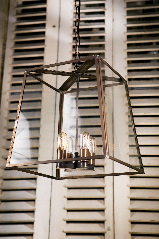 """Butler"" American Hand-Made Lantern"