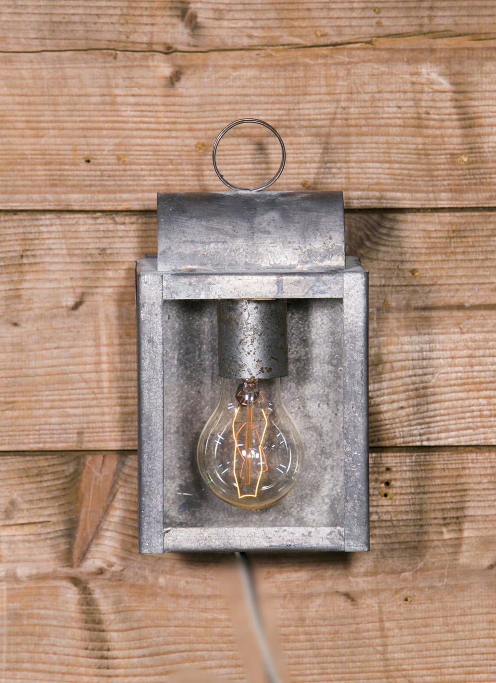 Solid Brass Cube Lantern