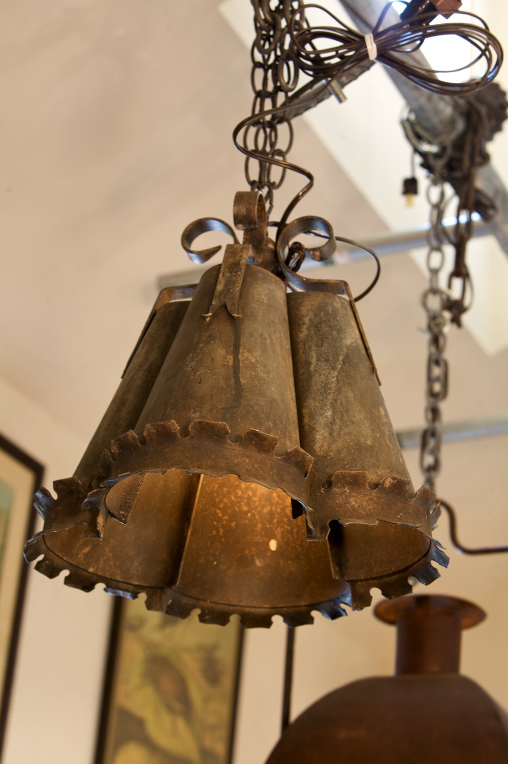 Hand-Made Iron Crawford Light