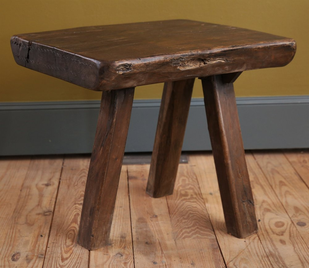 Chunky Massive Side Table
