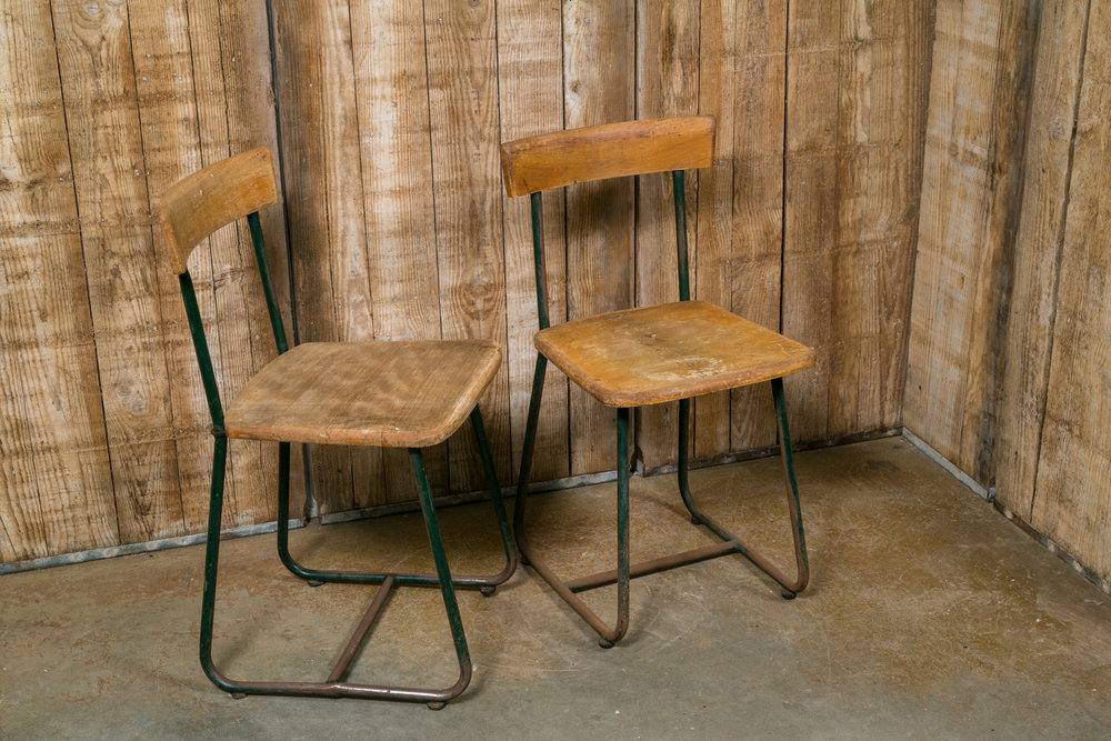 "More are available.  Measures 16"" L x 18"" D x 31.5"" H, each.  Seat 18.25"" H."