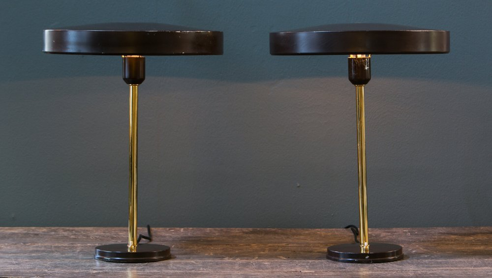 Pair of Mid-Century Modern Style Phillips Lamps