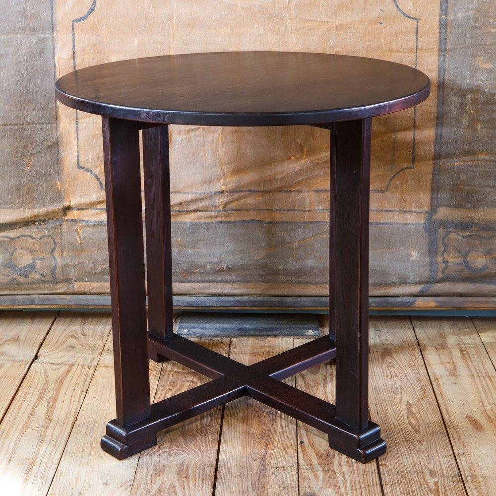 Round Art Deco Table