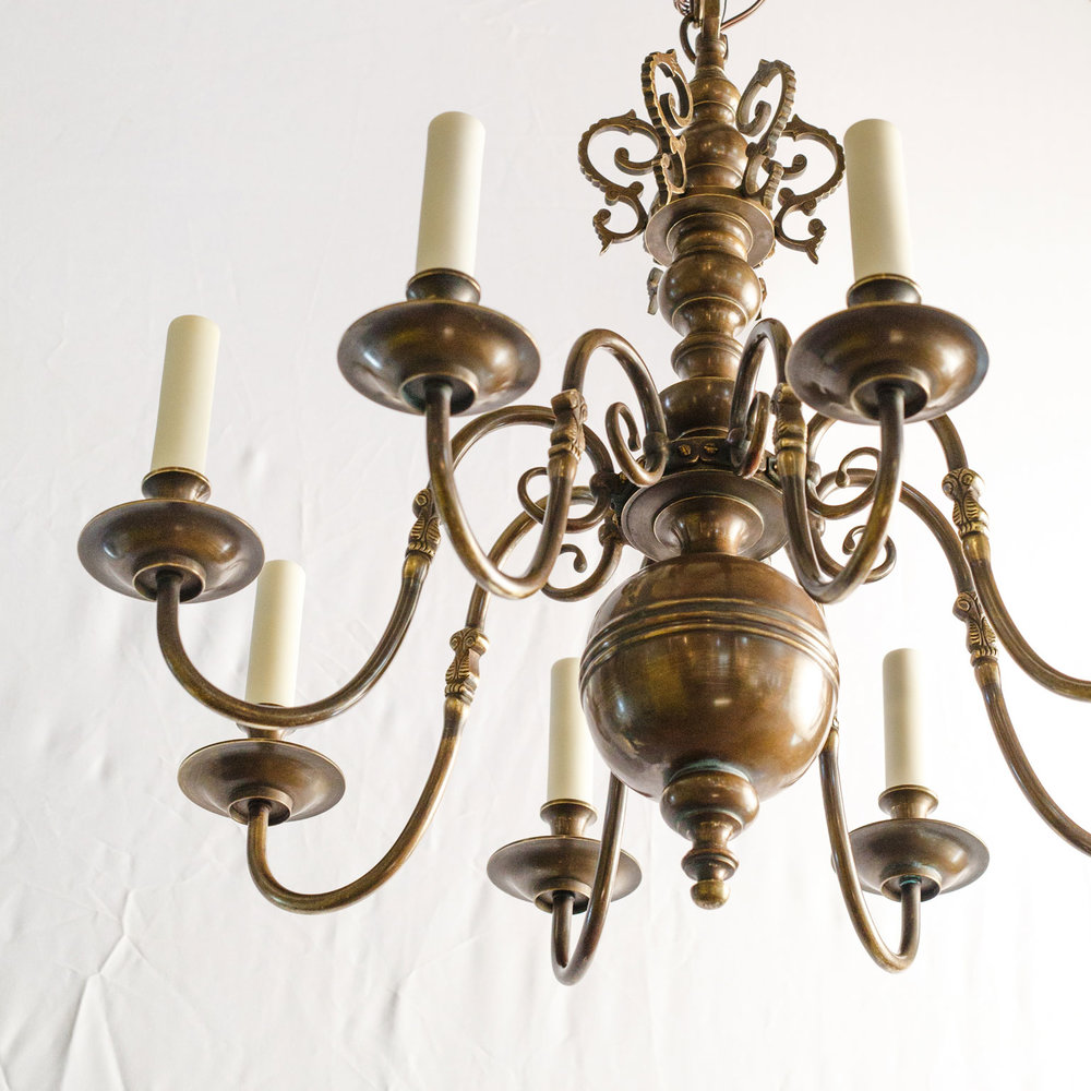 Smaller Scale Flemish Chandelier