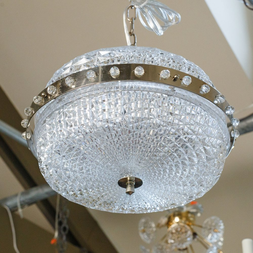 Swedish Glass Pendant
