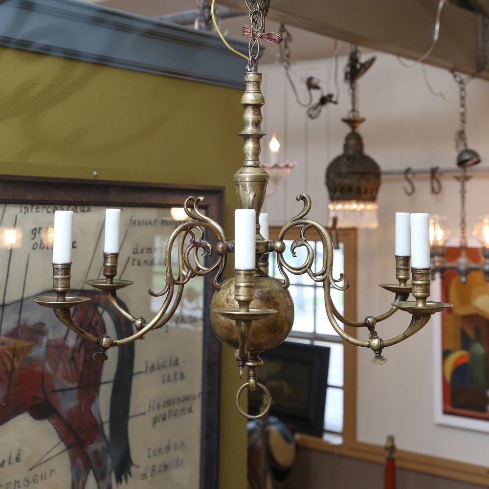 Vintage Flemish Chandelier