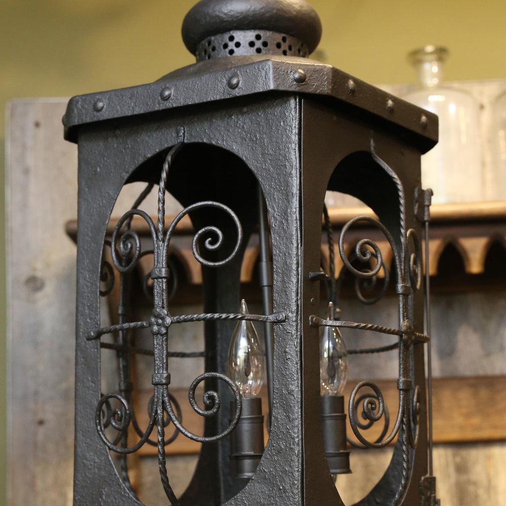 Antique Spanish Colonial Lantern