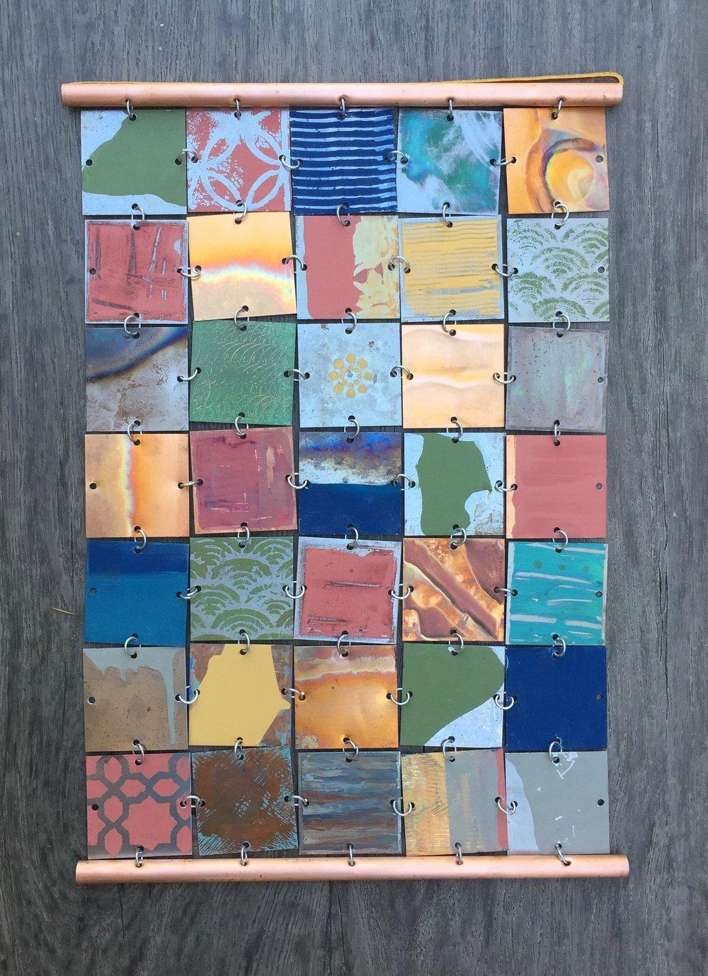 "16""w x 23""h. Sold. Custom mosaic.(Santa Monica,CA)"