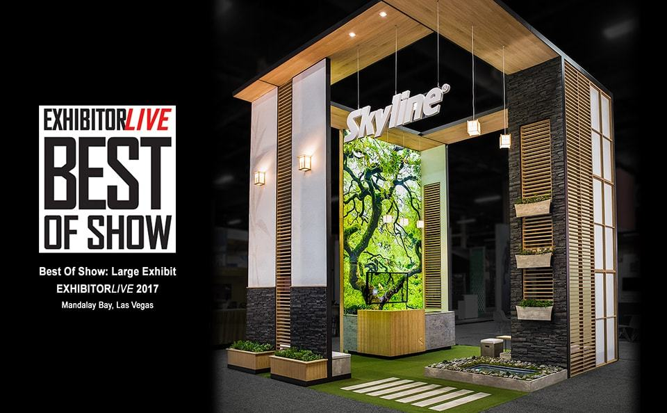 LAS VEGAS (March, 2017) U2013 Skyline Exhibits Was Named Best Of The Best At  EXHIBITORLIVE, The Trade Show Industryu0027s Premier Event Held At Mandalay Bay  In Las ...