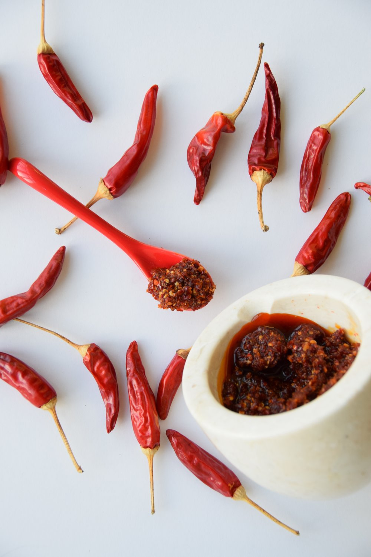cumin-paprika hot sauce.