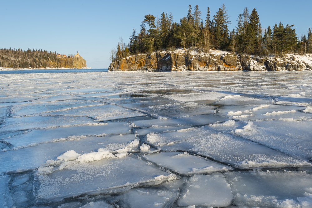 Lake Superior ice