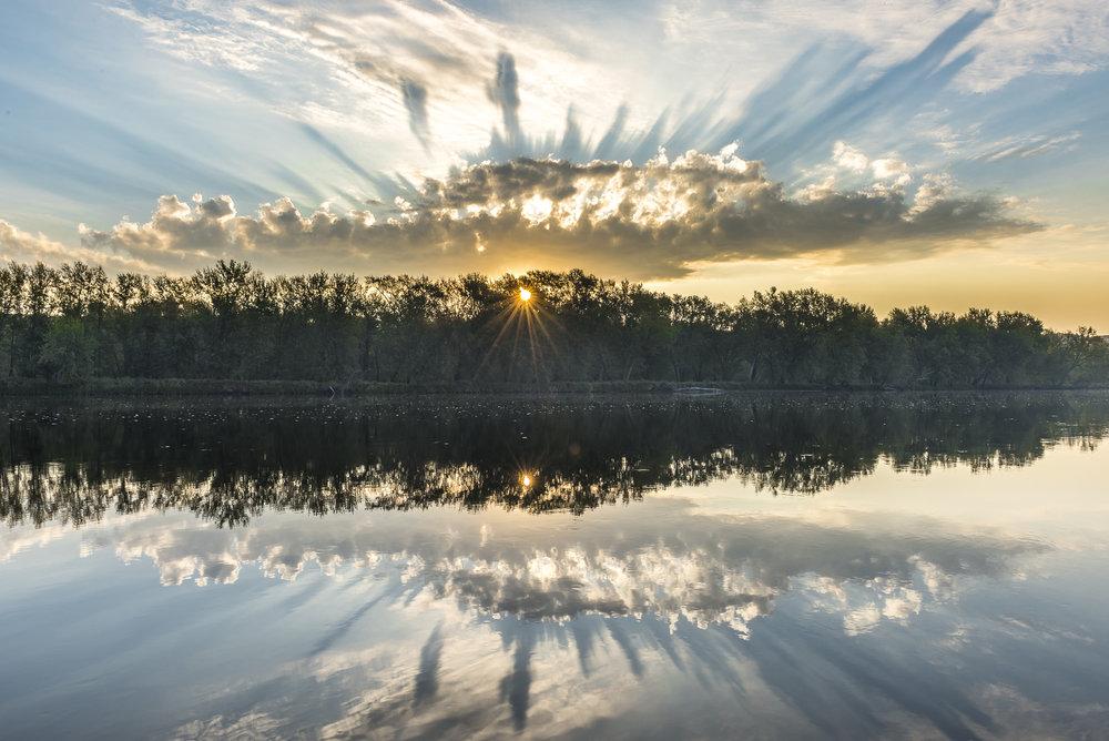 St. Croix river sunrise