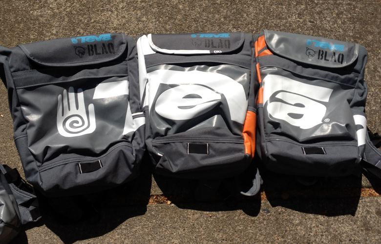 Custom PDX backpacks for Teva.