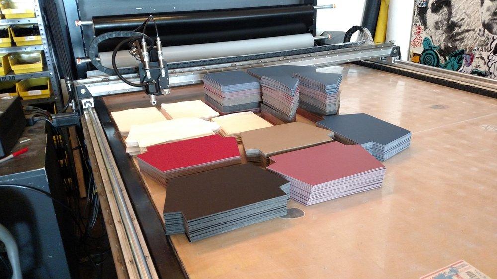 Material preparation.