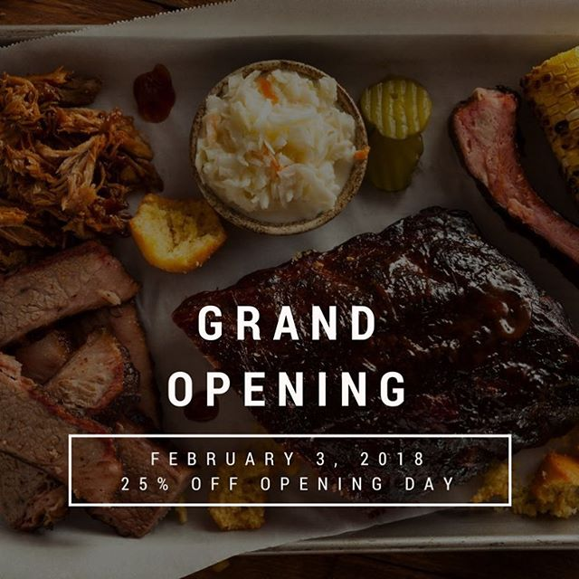 GRAND OPENING FEBRUARY 3RD. Capone's starts a smokehouse tradition in Edmonton. 25% OFF OPENING DAY. Join us to try out a true smokehouse meal, located on the corner of 170th Street and Stony Plain Road. https://zurl.co/egEE6 #grandopening #capones #thealibipub