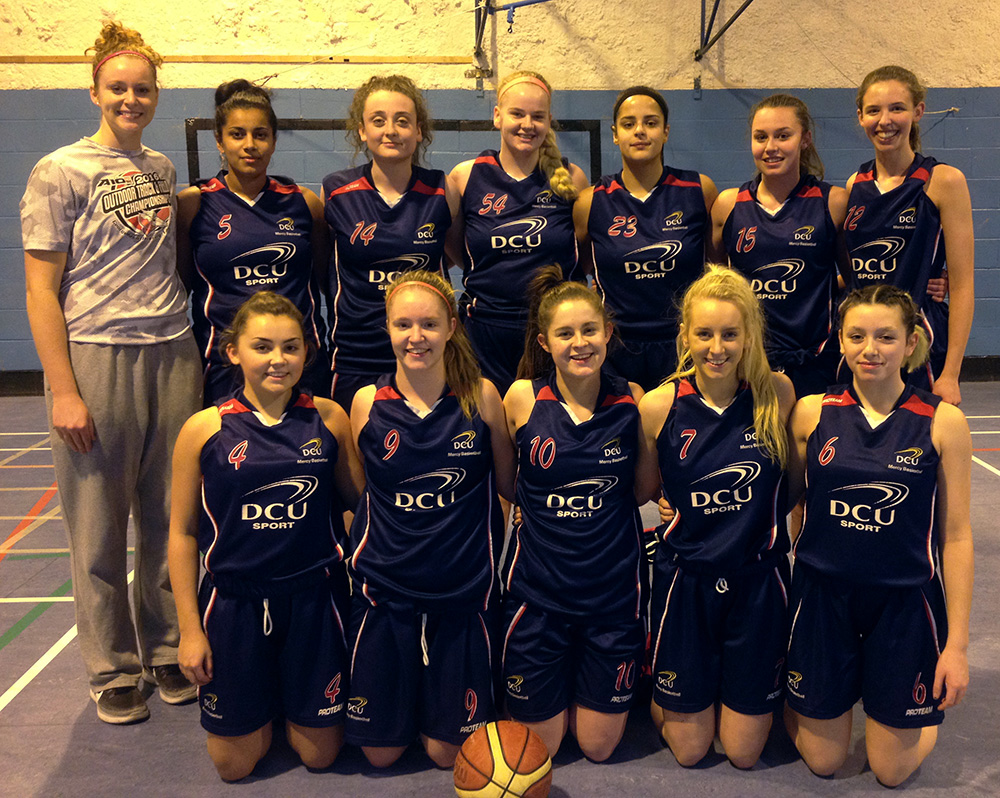 DCU Mercy Basketball Club  Division 1 Team