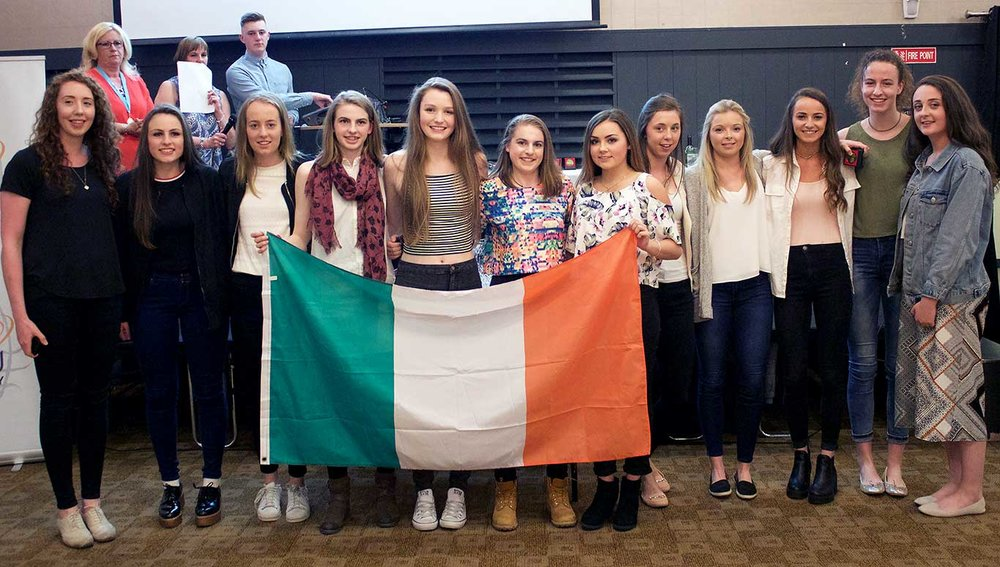 DCU Mercy Players selected to play on Irish International Teams
