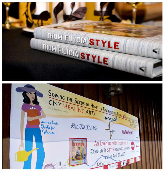 The fabulous banner and Thom Felicia's STYLE book