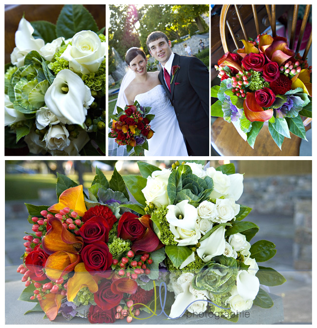 A September wedding with stunning colors